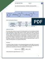 Síntesis de ácido benzoico. Hidrólisis de benzonitrilo.