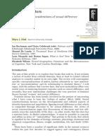 Concepciones Binarias en Procesos de Subjetivacion