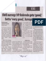 Philippine Daily Inquirer, Apr. 25, 2019, SWS survey VP Robredo gets good Sotto very good Arroyo poor.pdf
