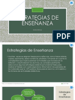 3.- Estrategias de Enseñanza Matemáticas