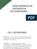 1. Condiciones Generales de Contratacion