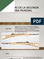 Armas de La Segunda Guerra Mundial