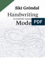Handwriting Models