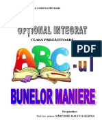 Optional Abcul Bunelor Maniere Cp 20142015