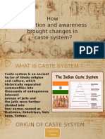 How Education Brought Changes in Caste System