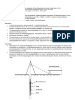 p s Logging Summary Downhole Method