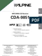 Cda9851 Manual