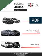 5214X Tarifs Peugeot