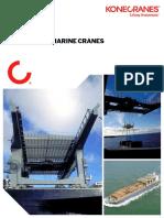Tailor Made Marine Cranes