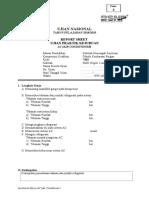 Report Sheet AC