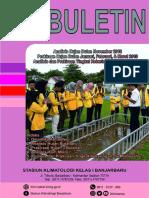 Buletin Analisis Dan Prakiraan Curah Hujan Edisi Desember 2018 – Stasiun Klimatologi Banjarbaru