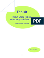 Results Based Project Management and Evaluation toolkit
