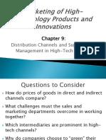 Marketing HighTech 3e Ch09