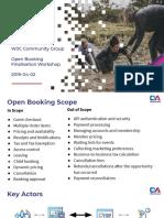 2019-04-02 Community Group Meet - Open Booking Finalisation Workshop 2019