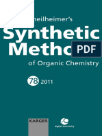 (Theilheimer's Synthetic Methods of Organic Chemistry+78) Gillian Tozer-Hotclikiss, Wirral, UK - Theilheimer's Synthetic Methods of Organic Chemistry. 78-S. Karger AG, Basel (Switzerland) (2011).pdf