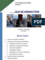 Chapitre 2-Démolition d'Un Bâtiment