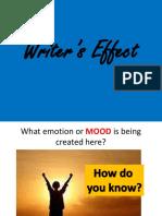 Writer's Effect -Starters