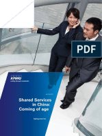 Shared Services in China Coming of Age En