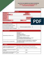 MPES-formulario