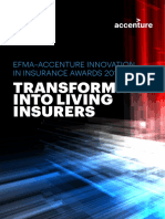 Accenture Efma Awards Transforming Into Living Insurers