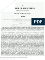 50. the Doctrine of the Wheels in the Visions of Ezekiel.