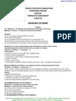 answer key cbse sample for class 8 english FA 1.pdf