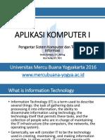 P02-APLIKOM1-Pengantar Sistem Komputer Dan Teknologi Informasi
