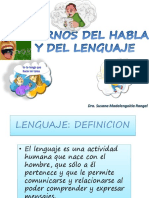 Med. Física y Rehabilitación - Trastornos Del Habla y Del Lenguaje