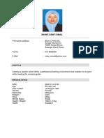 Contoh Resume GIS