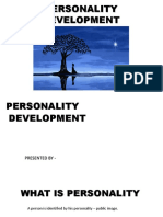 Personality Development - Upload