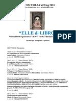 ELLE di LIBRO 2010 - Calendario degli Eventi