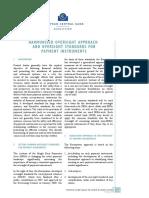Harmonise d Oversight Payment Instruments 2009 En