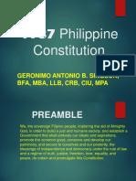 1987 Philippine Constitution 022418