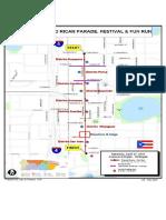 Florida Puerto Rican Parade route