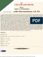 Chapter 2 Section 22. - Cyrillus Hierosolymitanus