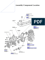 1.Cylinder Head Assembly Component Location Index