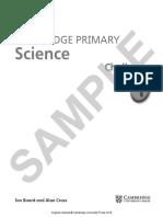 Cambridge Primary Science Skills Builder 6 Sample