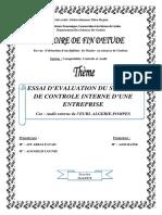 Essai d'evaluation du systeme de controle interne d'une entreprise.pdf