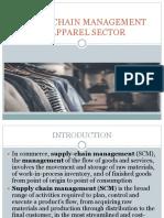SCM in apparel sector