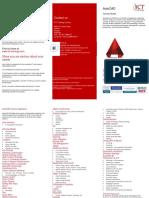 Autocad Leaflet