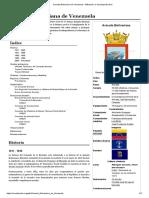 Armada Bolivariana de Venezuela - Wikipedia, La Enciclopedia Libre