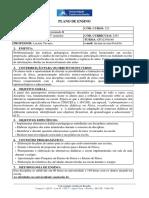 Plano de Ensino EstáGio II - FÃ_sica