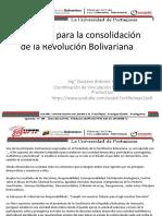 Propuesta Para La Consolidación de La Revolución Bolivariana