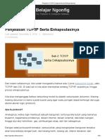 Penjelasan TCP_IP Lengkap Beserta Enkapsulasinya