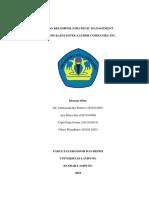 Tugas Kelompok Strategic Management