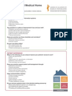 Patient-Centered Medical Home (PCMH) Checklist