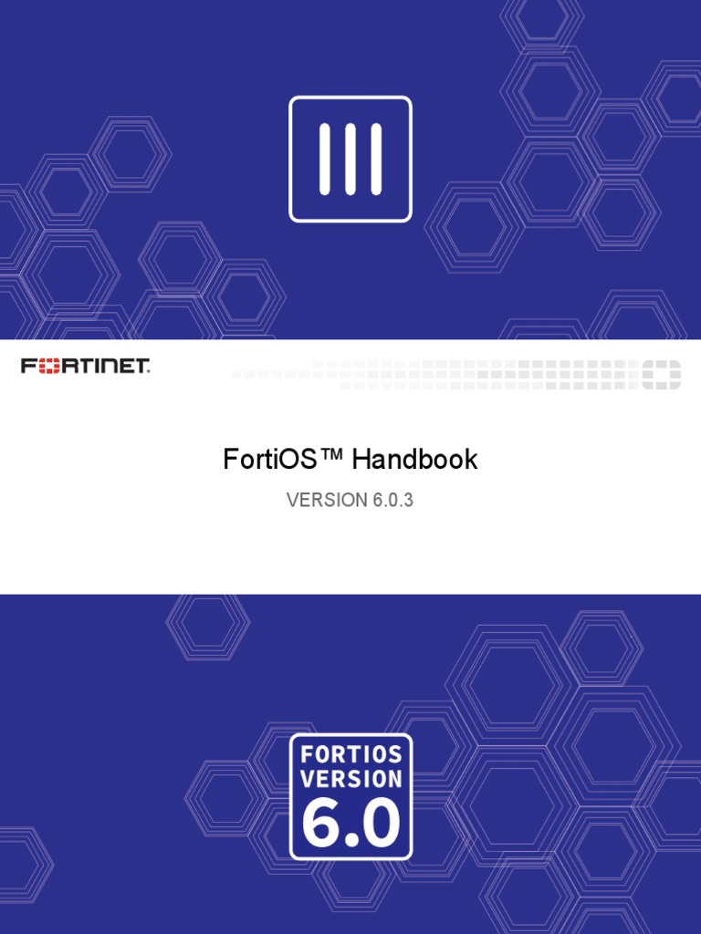 fortios-handbook-60 pdf | Proxy Server | Denial Of Service Attack