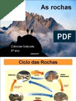 As Rochas e o Ciclo Litologico