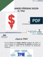 Las Seis Grandes Pérdidas TPM