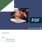 PwC India SAP SRM Experience Summary